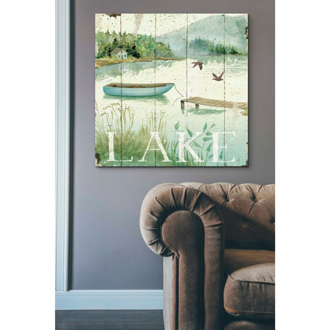 'Lakeside II' by Daphne Brissonet, Giclee Canvas Wall Art