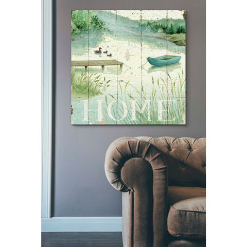 Image of 'Lakeside I' by Daphne Brissonet, Giclee Canvas Wall Art