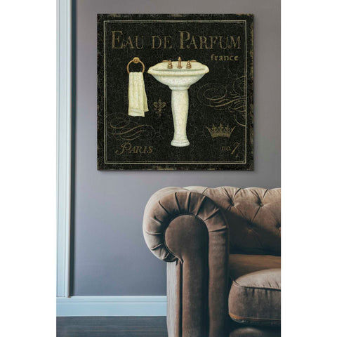 'Bain de Luxe III' by Daphne Brissonet, Giclee Canvas Wall Art