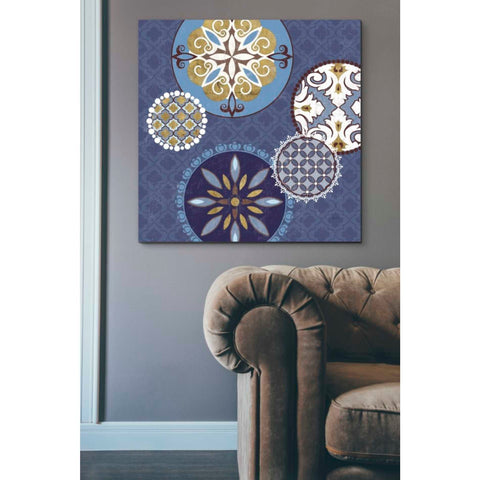 'Mediterranean Blue II' by Veronique Charron, Giclee Canvas Wall Art