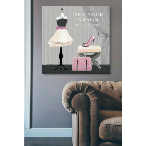 Image of 'Dress Fitting Boutique Sq I' by Marco Fabiano, Giclee Canvas Wall Art