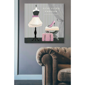 'Dress Fitting Boutique Sq I' by Marco Fabiano, Giclee Canvas Wall Art