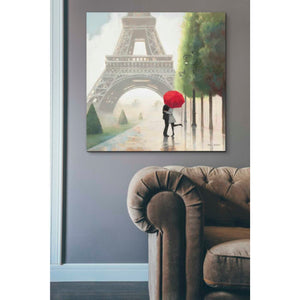 'Paris Romance II' by Marco Fabiano, Giclee Canvas Wall Art