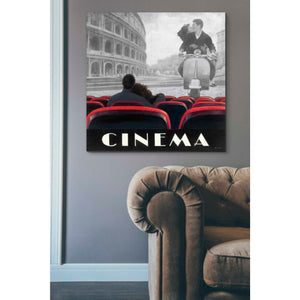 'Cinema Roma' by Marco Fabiano, Giclee Canvas Wall Art