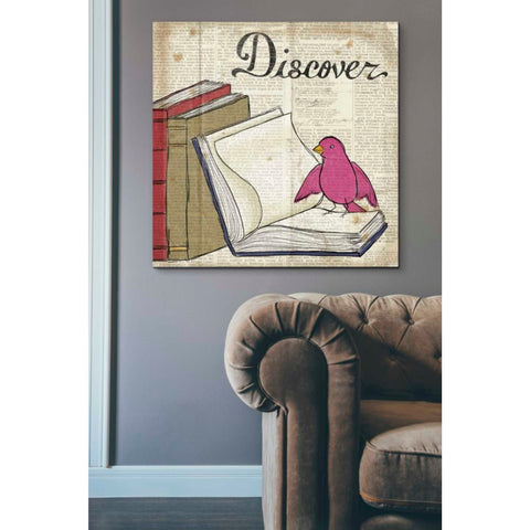 'Bird Inspiration Discover' by Elyse DeNeige, Giclee Canvas Wall Art