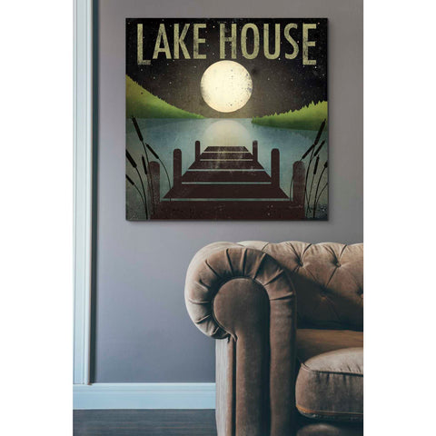 'Lake House' by Ryan Fowler, Giclee Canvas Wall Art