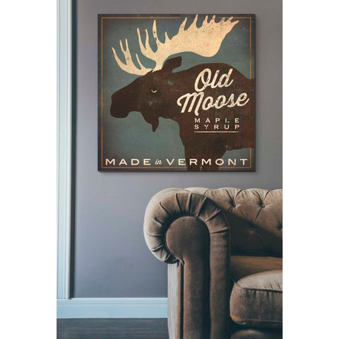 'Old Moose Maple Syrup Made in Vermont' by Ryan Fowler, Giclee Canvas Wall Art