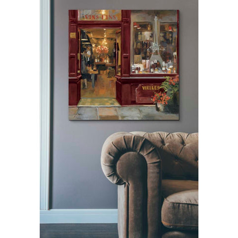 'Parisian Shoppe II' by Marilyn Hageman, Giclee Canvas Wall Art