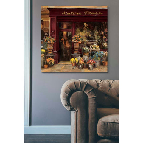'Parisian Shoppe I' by Marilyn Hageman, Giclee Canvas Wall Art