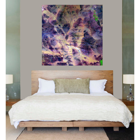 'Earth As Art: Contrails' Giclee Acrylic Wall Art