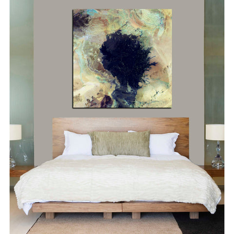 'Earth As Art: Lava Field' Giclee Acrylic Wall Art