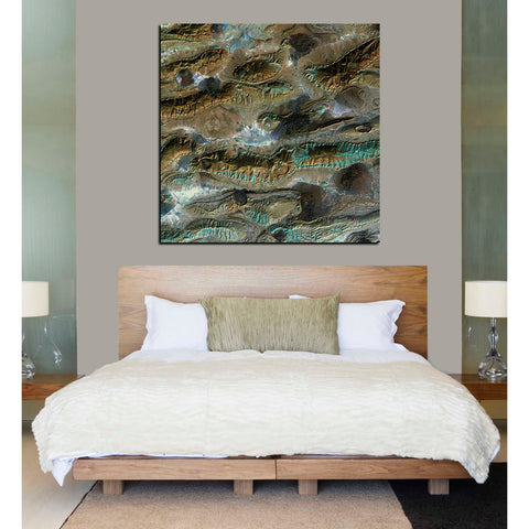 'Earth As Art: Salt Glaciers' Giclee Acrylic Wall Art