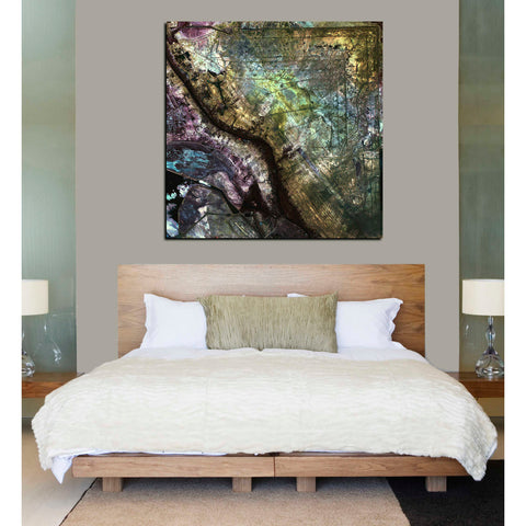 'Earth As Art: Iraqi Emplacement' Giclee Acrylic Wall Art