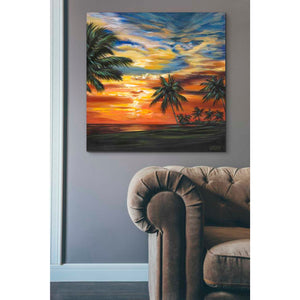 'Stunning Tropical Sunset II' by Carolee Vitaletti Giclee Canvas Wall Art