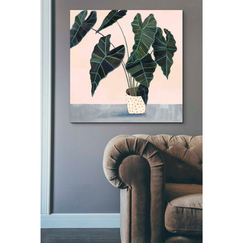 Image of 'Houseplant II' by Victoria Borges Giclee Canvas Wall Art