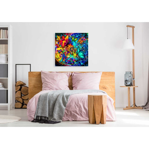 Image of 'Melting Pot' Canvas Wall Art,37 x 37
