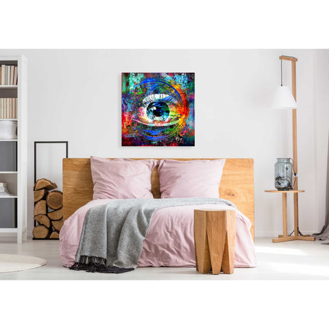 Image of 'Big Brother' Canvas Wall Art,37 x 37