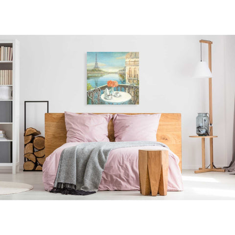 """Morning on the Seine"" by Danhui Nai, Giclee Canvas Wall Art"