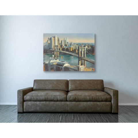 "Image of ""Into Manhattan"" by Marilyn Hageman, Giclee Canvas Wall Art"