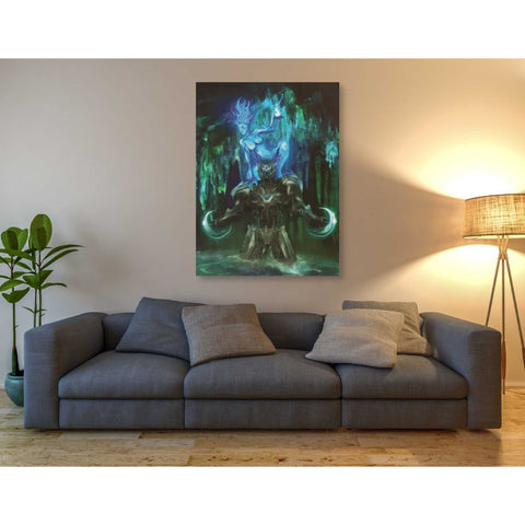 "Image of ""Chaac"" by Michael Stewart, Giclee Canvas Wall Art"