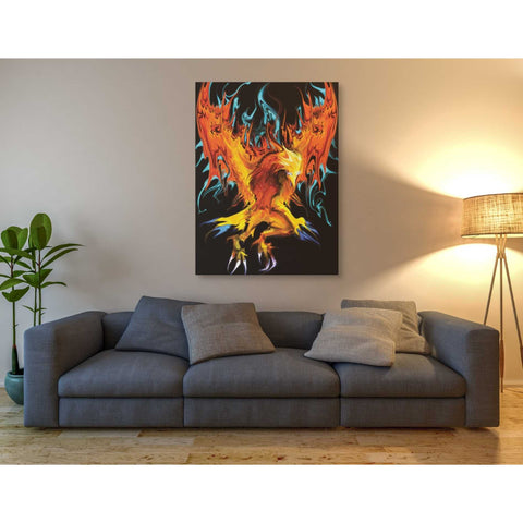 'Fall To Ashes' by Michael StewArt, Canvas Wall Art,40 x 54