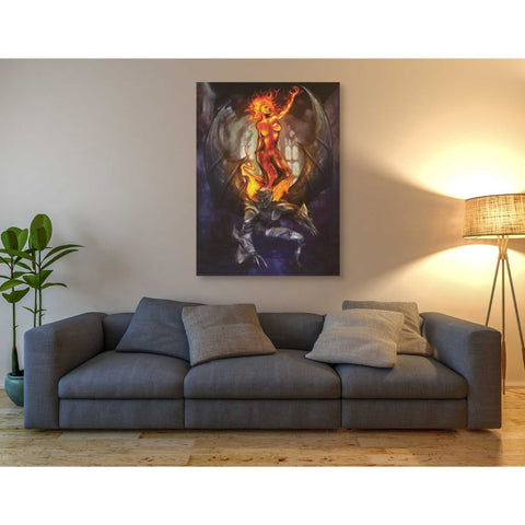 'Final Angel' by Michael StewArt, Canvas Wall Art,40 x 54