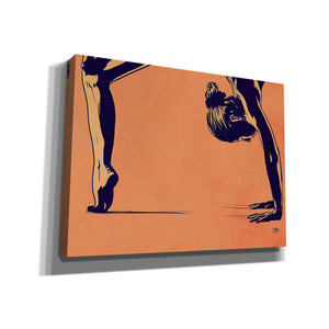 'Contortionist 1' by Giuseppe Cristiano, Giclee Canvas Wall Art