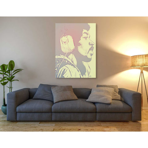 Image of 'Jimi Hendrix' by Giuseppe Cristiano, Giclee Canvas Wall Art