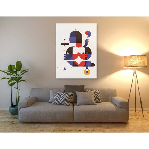 Image of 'Chameleon' by Antony Squizzato, Giclee Canvas Wall Art