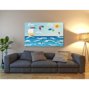 'Kites Dance' by Antony Squizzato, Giclee Canvas Wall Art