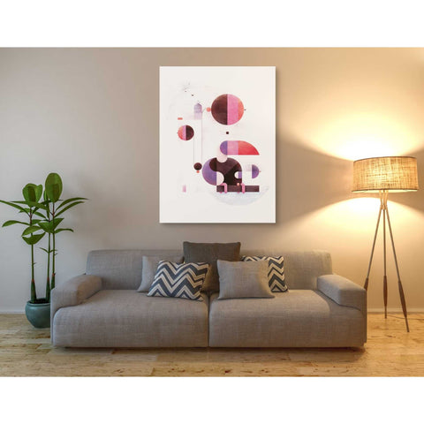 Image of 'Rainbow Swinger' by Antony Squizzato, Giclee Canvas Wall Art