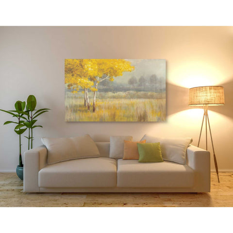 'Yellow Landscape' by Danhui Nai, Giclee Canvas Wall Art