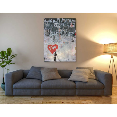 'WILD WORLD' by DB Waterman, Giclee Canvas Wall Art