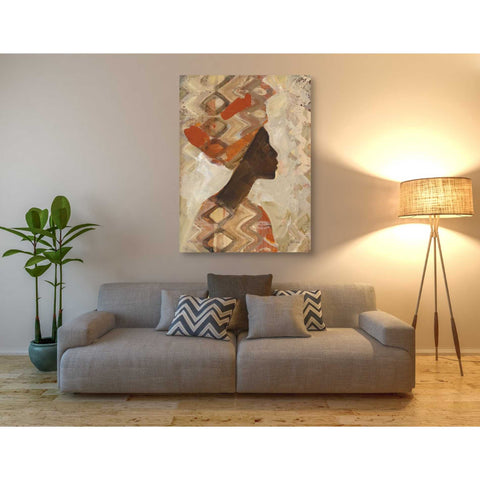 Image of 'African Beauty I' by Albena Hristova, Canvas Wall Art,40 x 54