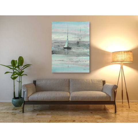 Image of 'Ice Sailing' by Albena Hristova, Canvas Wall Art,40 x 54
