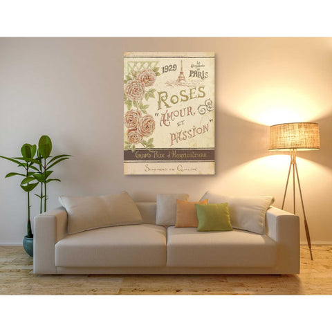 Image of 'French Seed Packet I' by Daphne Brissonet, Giclee Canvas Wall Art
