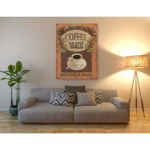 Image of 'Coffee Blend IV' by Daphne Brissonet, Giclee Canvas Wall Art
