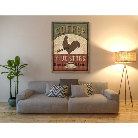 'Coffee Blend III' by Daphne Brissonet, Giclee Canvas Wall Art