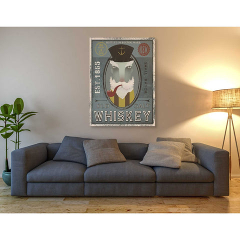 'Fisherman I Old Salt Whiskey' by Ryan Fowler, Giclee Canvas Wall Art