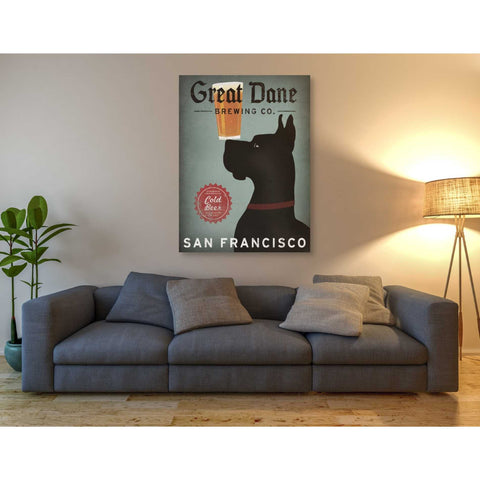 'Great Dane Brewing Co San Francisco' by Ryan Fowler, Giclee Canvas Wall Art