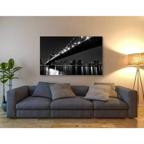 Image of 'Manhattan Bridge' by Katherine Gendreau, Giclee Canvas Wall Art