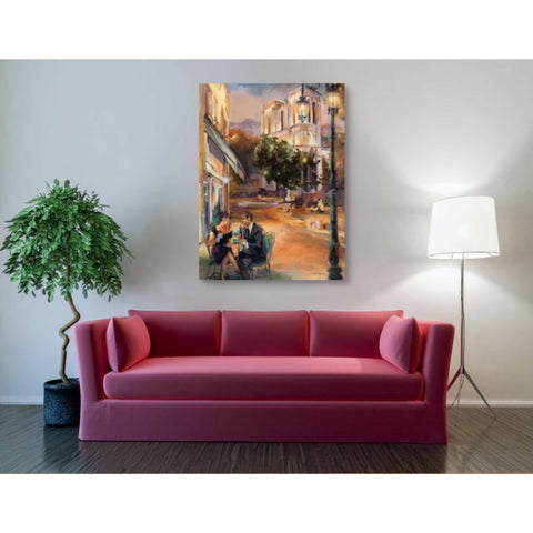 'Twilight Time in Paris' by Marilyn Hageman, Giclee Canvas Wall Art