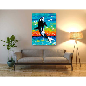 'Ocean Friends I' by Carolee Vitaletti Giclee Canvas Wall Art