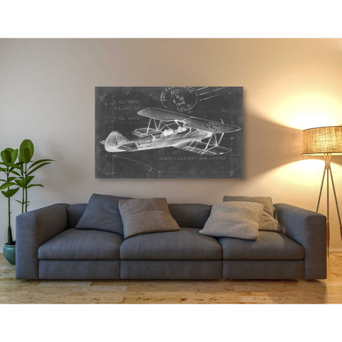 'Flight Schematic I' by Ethan Harper Giclee Canvas Wall Art