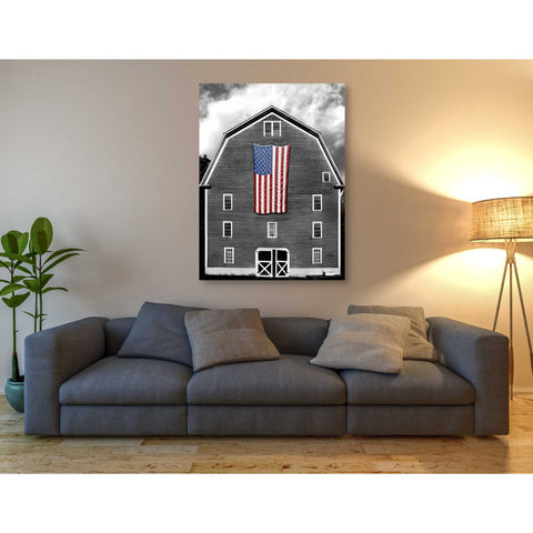 'Flags of Our Farmers XIX' by James McLoughlin Giclee Canvas Wall Art