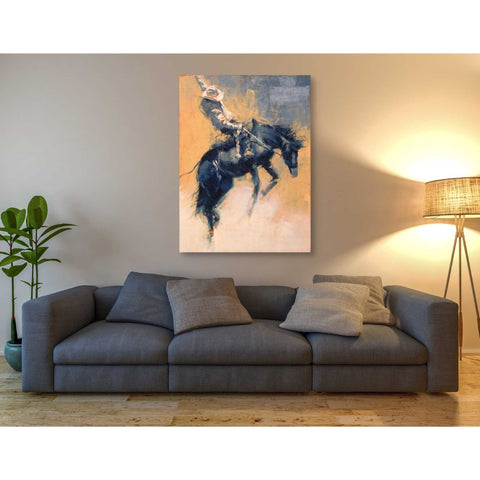 Image of 'Mood Indigo III' by Julie T. Giclee Canvas Wall Art