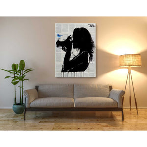 'The Vintage Shooter' by Loui Jover, Canvas Wall Art,40 x 54