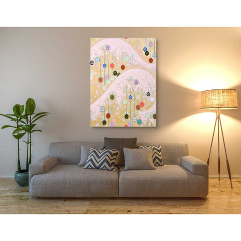 Image of 'Cherry Mountain' by Zigen Tanabe, Giclee Canvas Wall Art