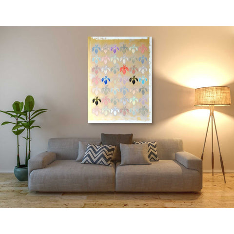 Image of 'Iris Mark' by Zigen Tanabe, Giclee Canvas Wall Art