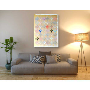 'Iris Mark' by Zigen Tanabe, Giclee Canvas Wall Art
